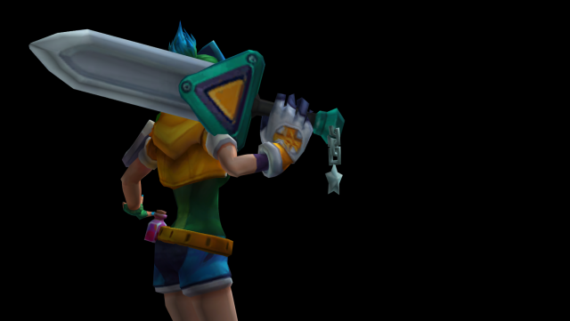The Broken Sword (Arcade Riven) from League of Legends.