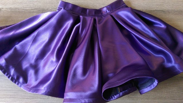 The finished skirt!