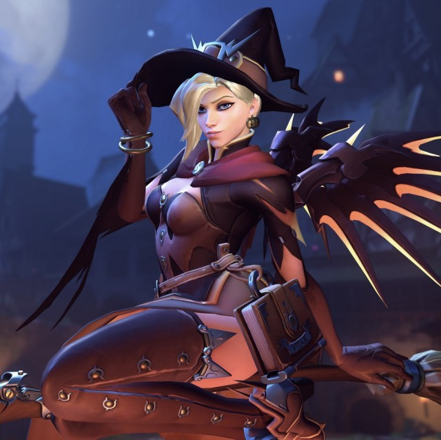 Witch Mercy Julia Luo